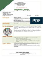 Guía de aprendizaje Núcleo de Ciencia y Tecnología Noveno grado.