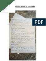 dossier Ayoub Questions de cours _AFA _