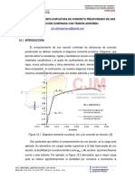 M12. MOMENTO-CURVATURA DEL CONCRETO CONFINADO CON TENDÓN ADHERIDO