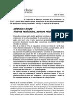 Nota de Prensa Del Volumen 30 Estudio Sobre La Mujer Ccion de Estudios Sociales de La Fundacion La Caixa[1]