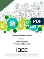 PSIDE1501_S1_CONT_Introducción a la Psicología del Desarrollo
