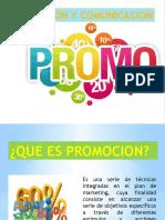PROMOCION Y COMUNICACION, mercadotecnia
