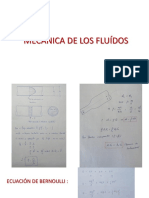 MECÁNICA DE FLUÍDOS