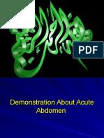 Final Acute Abdominal Examination Demo
