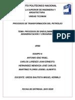PROCESOS DE ENDULZAMIENTO, DESHIDRATACIÓN Y CRIOGÉNICO.