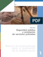POLICÍA 1_ Seguridad pública y prestación de servicios policiales