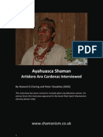 Interview With Ayahuasca Shaman Artidoro