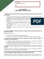 CUESTIONARIO-AMÉRICA CENTRAL