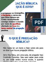 O que é pregação bíblica.ppt