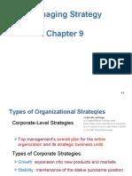 Ch.9-Managing Strategy