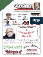 Datina - Ediție Națională - 13-14.06.2020 - prima pagină