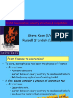 Keen Standish Theory of Firm