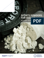 Sport powders vegan