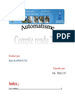 Compte redu Ilias RAHMOUNI TP1 Automatisme