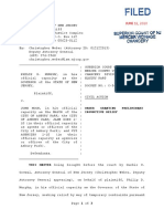 C-56-20 Prelim Restraints Signed 6.12.20