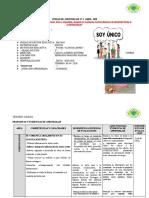 UNIDAD DE APRENDIZAJE N° 2 ABRIL 2020 - monica raquel noronha davila