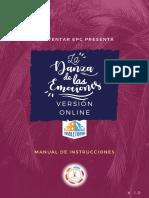 Manual La Danza de Las Emociones Online
