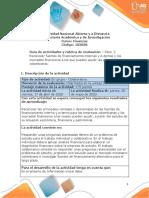 Guia de actividades y Rúbrica de evaluación - Paso 2 - Reconocer fuentes de financiamiento y mercados financieros (3)