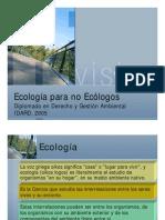 Ecologia-para No Ecologos