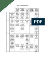 Pauta de evaluación Cuento