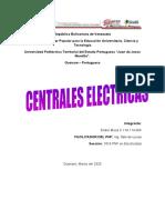 PRINCIPALES EQUIPOS DE CENTRALES