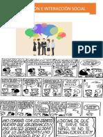 COMUNICACIÓN E INTERACCIÓN SOCIALi  1 CLASE