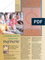 Communion with the Infinite - the magical art of the Shipibo