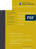 La falacia de los impuestos bajos en España