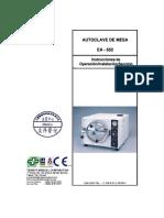 autoclave EA 652