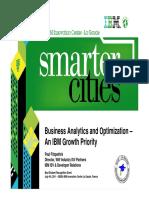 Business Analytics and Optimization-BAO