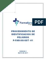 Anexo 8 D-FAR-AG-SST -01 Identificacion de Peligros