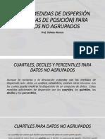 CLASE 6  - OTRAS MEDIDAS DE DISPERSIÓN PARA DNA