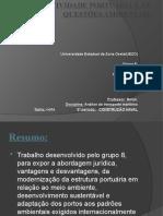 A Atividade Portuária E As Questões Ambientais.pptx