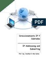 Practica Direccionamiento IP Y Subredes