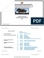 Consolidated Monthly Bulletins Jan-Aug 2010