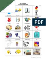 Spanish Vocabulary - Unit 2 visuals