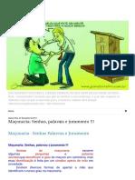 BÍBLIA- FONTE DA VERDADE ABSOLUTA_ Maçonaria_ Senhas, palavras e juramento !!!