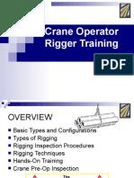 Rigger Training
