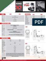 Ficha Técnica - Ficha técnica CA60 –  CB60 HINO  SERIE 700