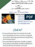 PRESENTACION TEST ABC