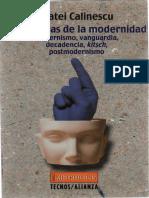 MATEI CALINESCU Cinco Caras de la modernidad