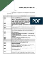 8.2. METRADO DE  ARQUITECTURA-AVILA VILLENA, JERSON
