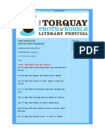 Torquay Froth and Babbler Edition 1