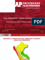 3.- TERCERA SEMANA LA SEGURIDAD