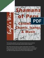 Shamans of Peru CD