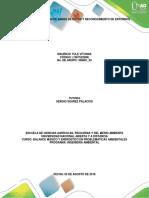 Etapa 1 - Uso de bases de datos y reconocimiento de entornos