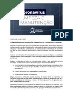 Ações de limpeza e conservação na UFRPE de prevenção ao Coronavírus COVID-19.pdf