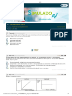 Estácio - CONTABILIDADE DE CUSTOS -1a AVALIAÇÃO PARCIAL