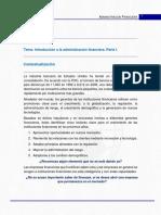 Introducción - Admon Financiera