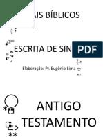 SINAIS BÍBLICOS EM SW